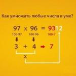 Умножение чисел в уме